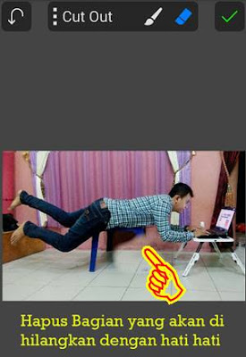 Tutorial Edit Levitasi di Android