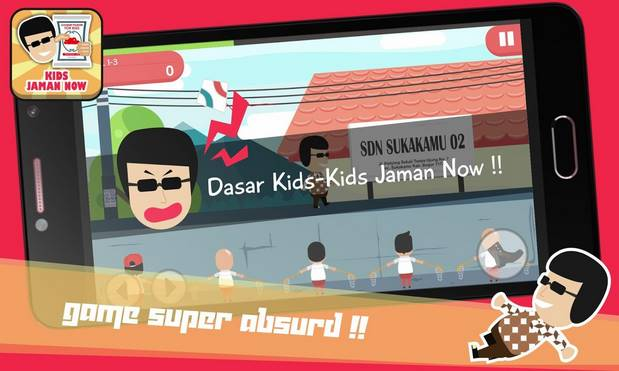 Download Game Kids Jaman Now .APK Gratis di Android