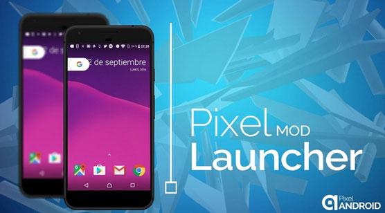 Pixel Launcher Mod