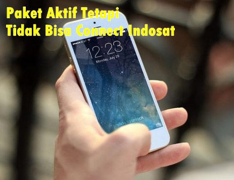 Paket Aktif Tetapi Tidak Bisa Connect Indosat