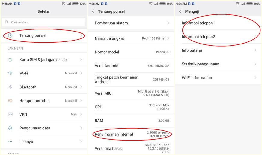 cara set 4G only Xiaomi