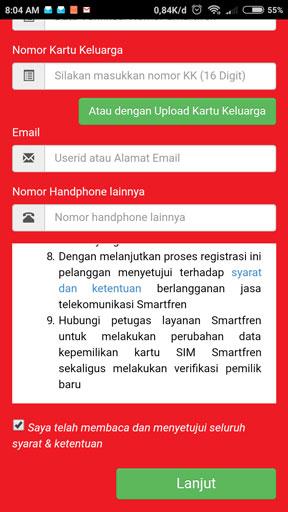 registrasi kartu smartfren