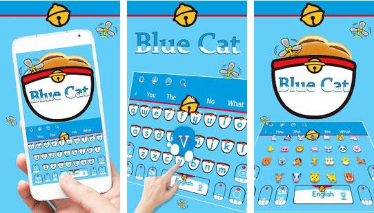 Biru Kucing Sihir Saku Tema