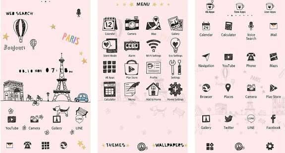 Cute Theme – Little Paris