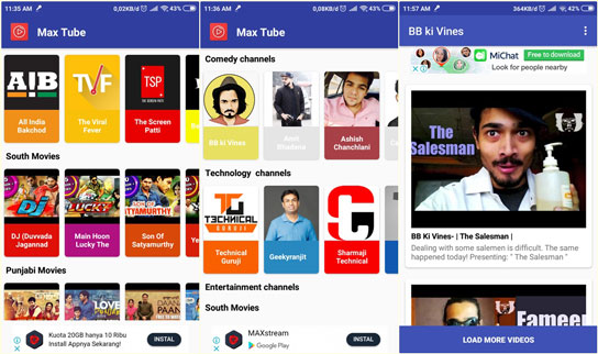 Download MaxTube APK